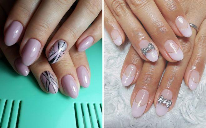 идеи маникюра на круглые ногти