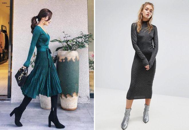 šta nositi haljinu sa lurexom