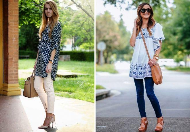 što nositi žensku haljinu tunika