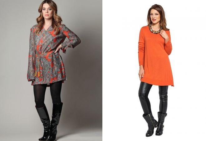 što će nositi polu-sezonska haljina tunika