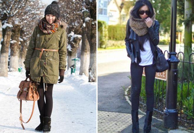 kako nositi maramu sa jaknom