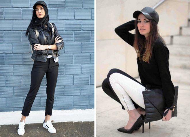 modne kožne kape za djevojčice