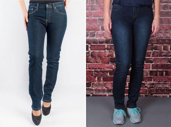 модные зимние джинсы