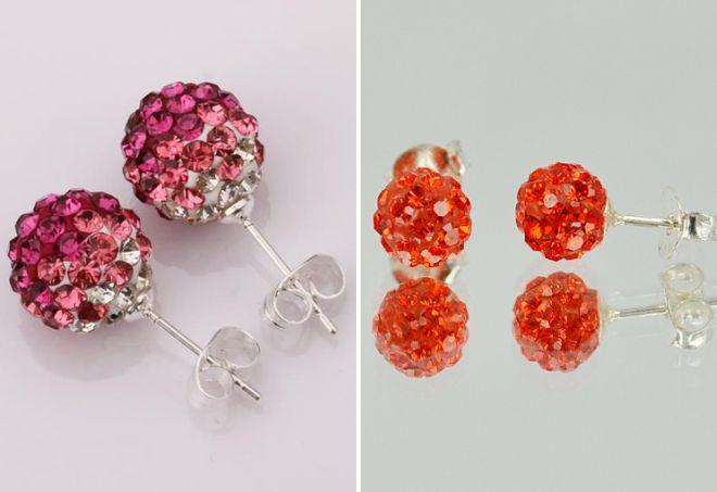 шарики с кристаллами Сваровски