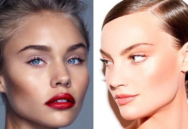трендовый макияж 2019