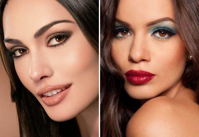 макияж 2019 для карих глаз