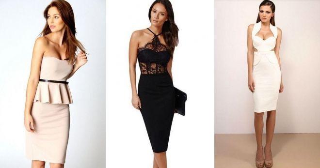 Короткие платья 2019 футляр