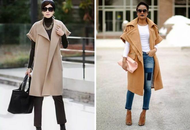 13b3213d2e2 Модное женское бежевое пальто – классическое и оверсайз