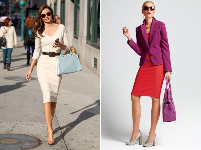 6c84b7c13a7 Деловой стиль одежды для женщин – платья