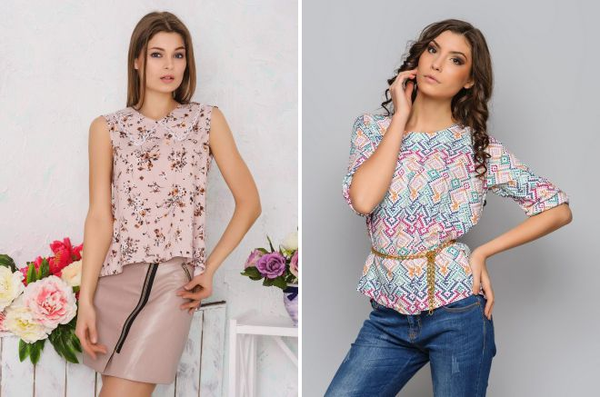 фасоны блузок для женщин