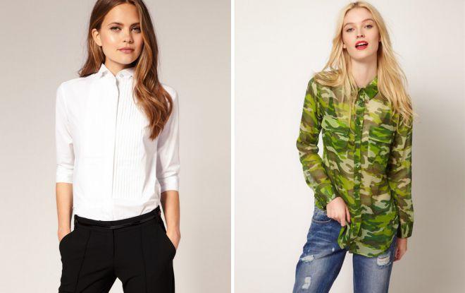 фасоны модных блузок