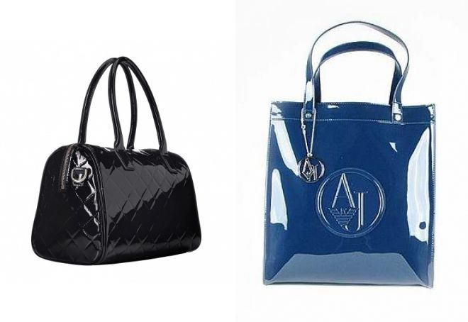 431589c4b983 Лаковая сумка – черная, красная, бежевая, саквояж, мешок, с рисунком ...