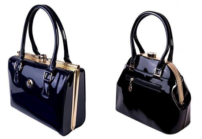 5dc6b9d7504b Лаковая сумка – черная, красная, бежевая, саквояж, мешок, с рисунком ...