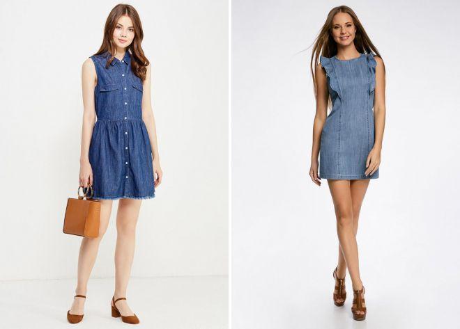 robes en jean d'été xnumx