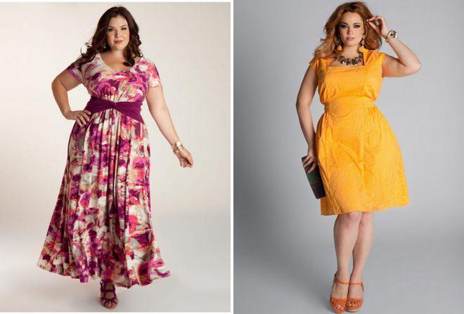robes d'été pour femmes obèses 2018
