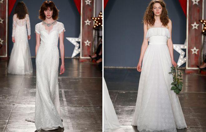 robes de mariée d'été 2018