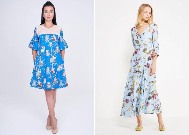 Robes d'été 2018, tendances de la mode