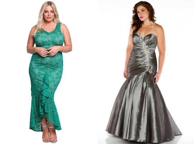 платья годе для полных женщин