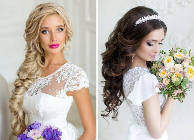 свадебные прически 2018 модные тенденции