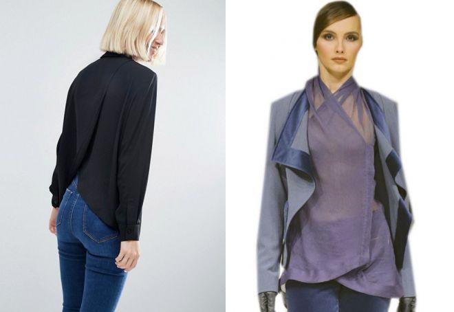 красивые шелковые блузки