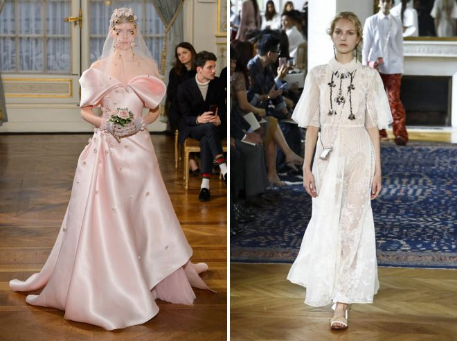 стильные летние свадебные платья