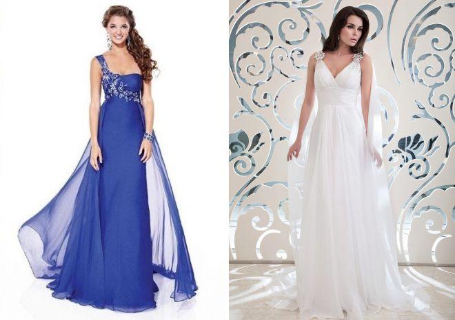 летние свадебные платья в греческом стиле