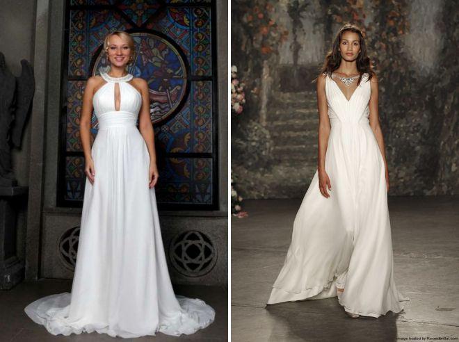 роскошные летние свадебные платья