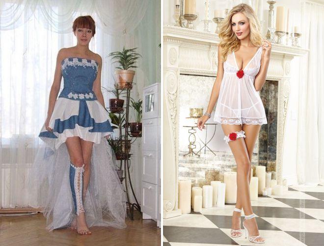 чулки под свадебное платье летом