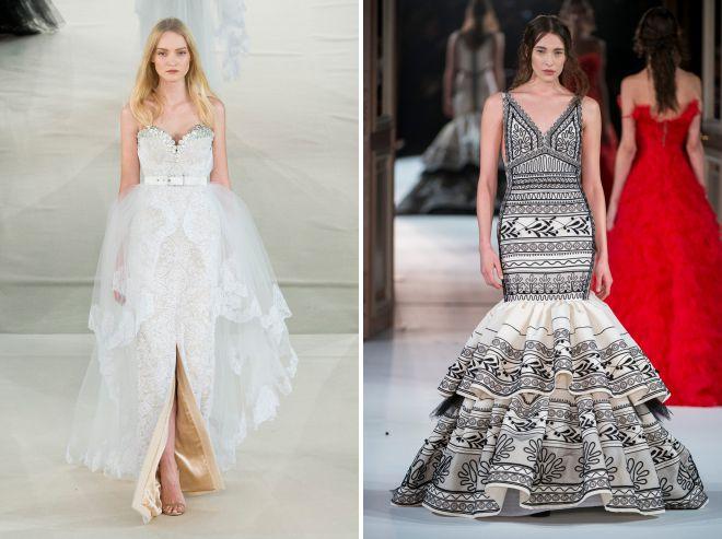 красивые летние свадебные платья