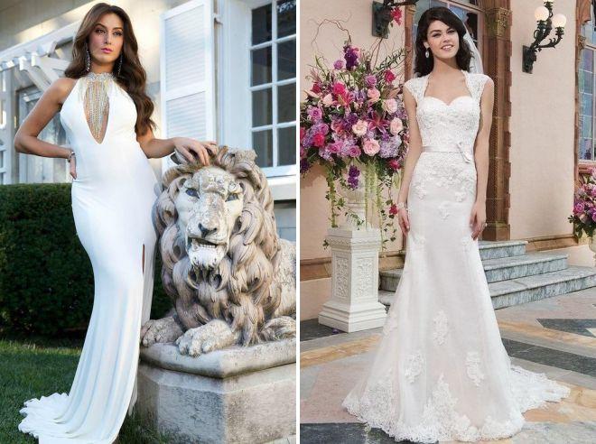 свадебные платья лето 2018