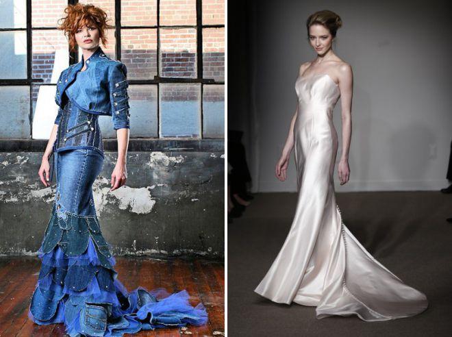 летние длинные свадебные платья