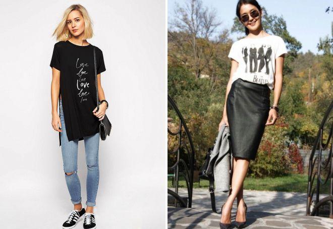 модные женские футболки лето