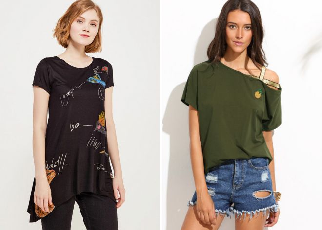 какие футболки модные в 2018