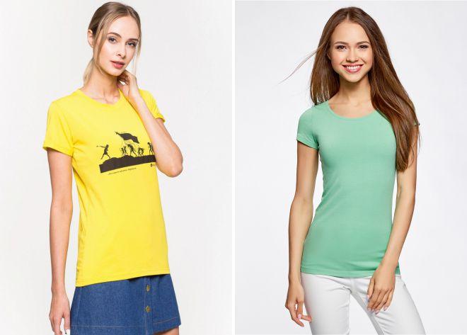 модные футболки 2018