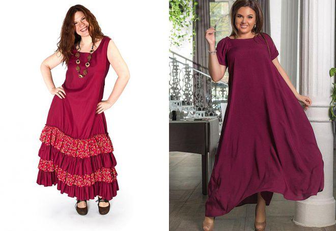 штапельные платья в стиле бохо