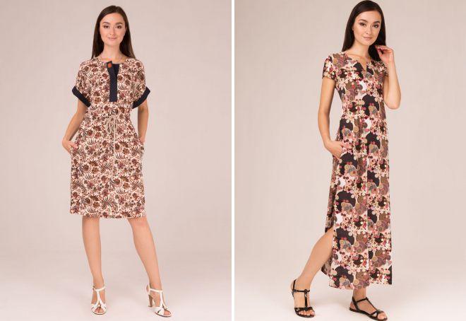 9cf92e82ec1 Летние штапельные платья – фасоны