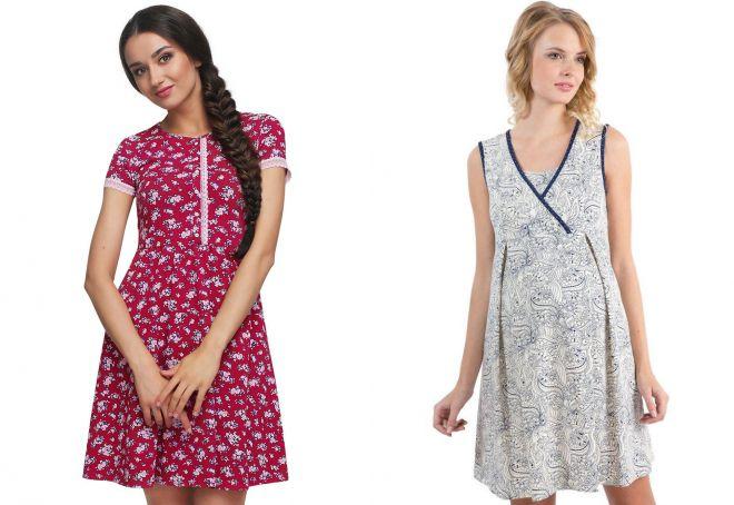 домашние платья из штапеля