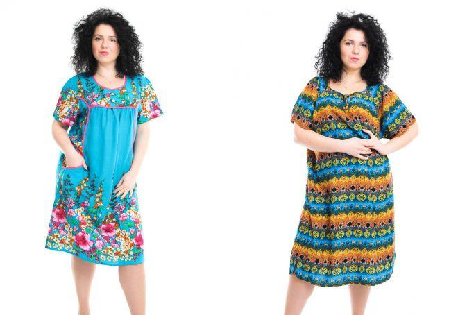 модели летнего платья из штапеля