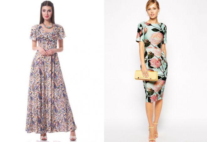 штапельные платья фасоны
