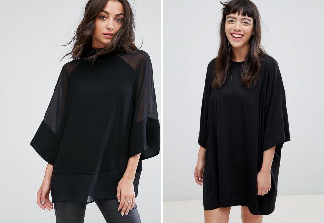 черные футболки для девушек