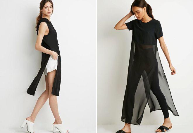 длинные футболки для женщин