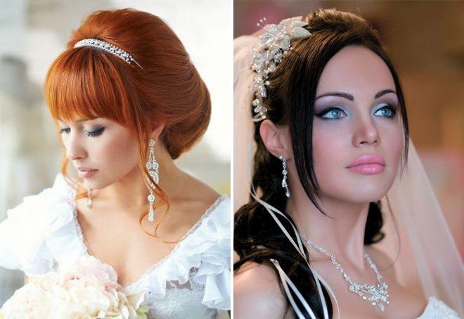 свадебный макияж 2018 для голубоглазых