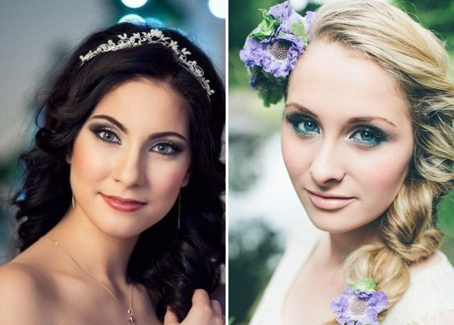 свадебный макияж для зеленых глаз 2018