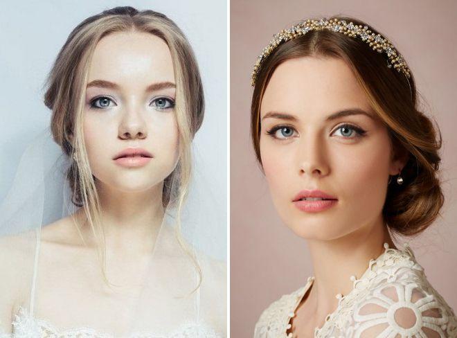 модный макияж невесты 2018