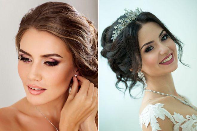 свадебный макияж 2018 со стрелками