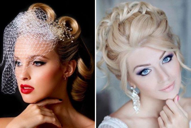 красивый свадебный макияж 2018