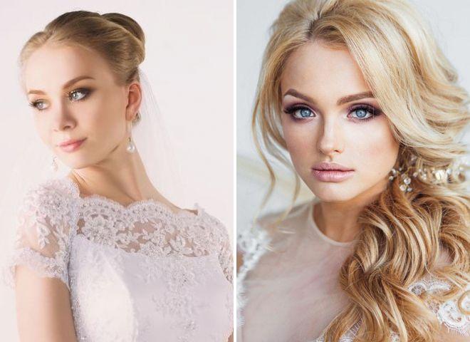 макияж невесты 2018 2019 для блондинок