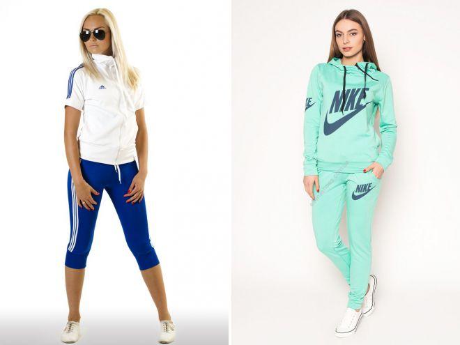 09599ee5 Модные женские летние спортивные костюмы – классические, с бриджами ...