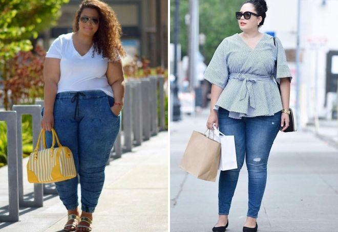 как выбрать женские джинсы если есть живот