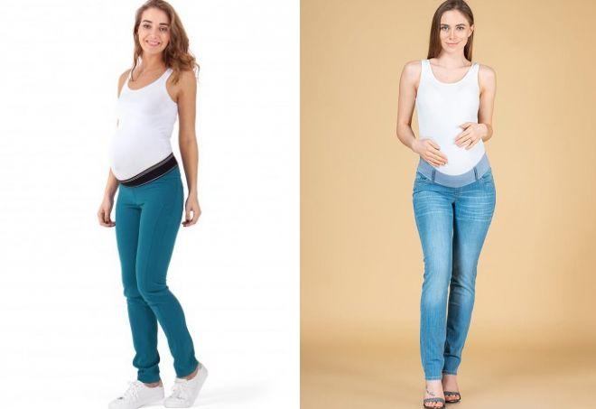 как подобрать джинсы для беременных